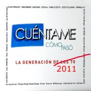 """Portada editada del disco """"Cuentame cómo pasó"""""""