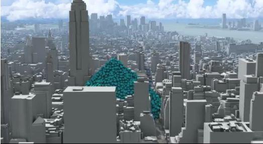 Post Las pompas de carbono en la ciudad de NY