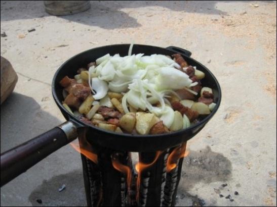 Post Cómo hacer una antorcha cocina con un solo tronco