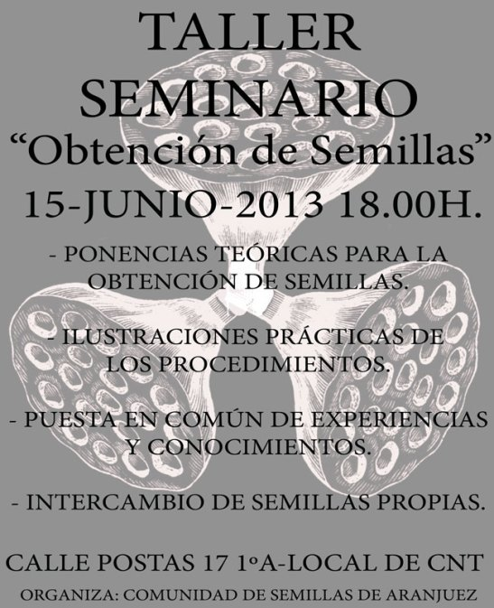Post Taller seminario Semillas 1