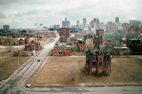 Post Detroit la decadencia de una ciudad